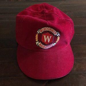 Wisconsin Badger Corduroy hat